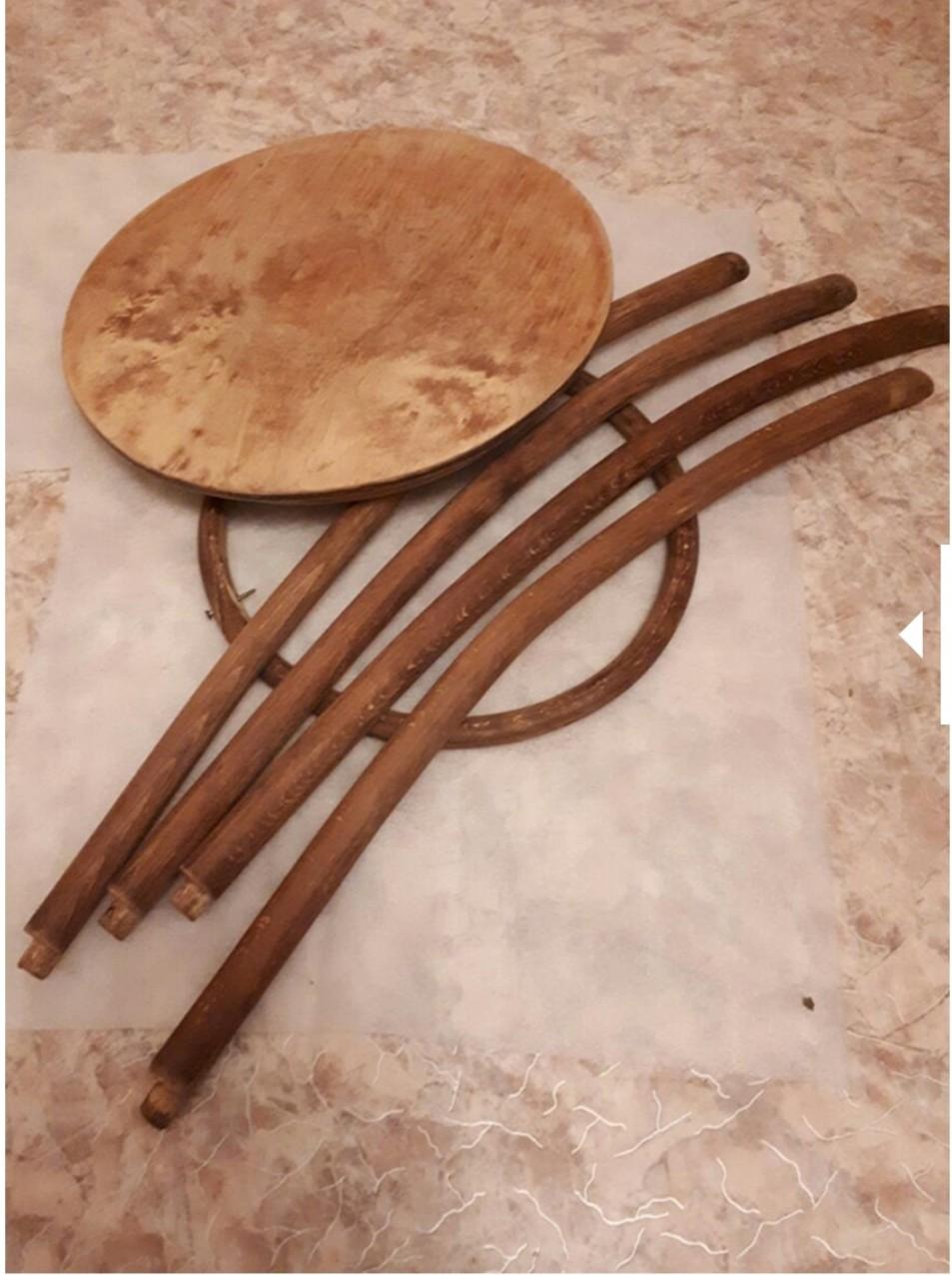 Реставрация кофейного столика в реставрационной мастерской restorer.expert