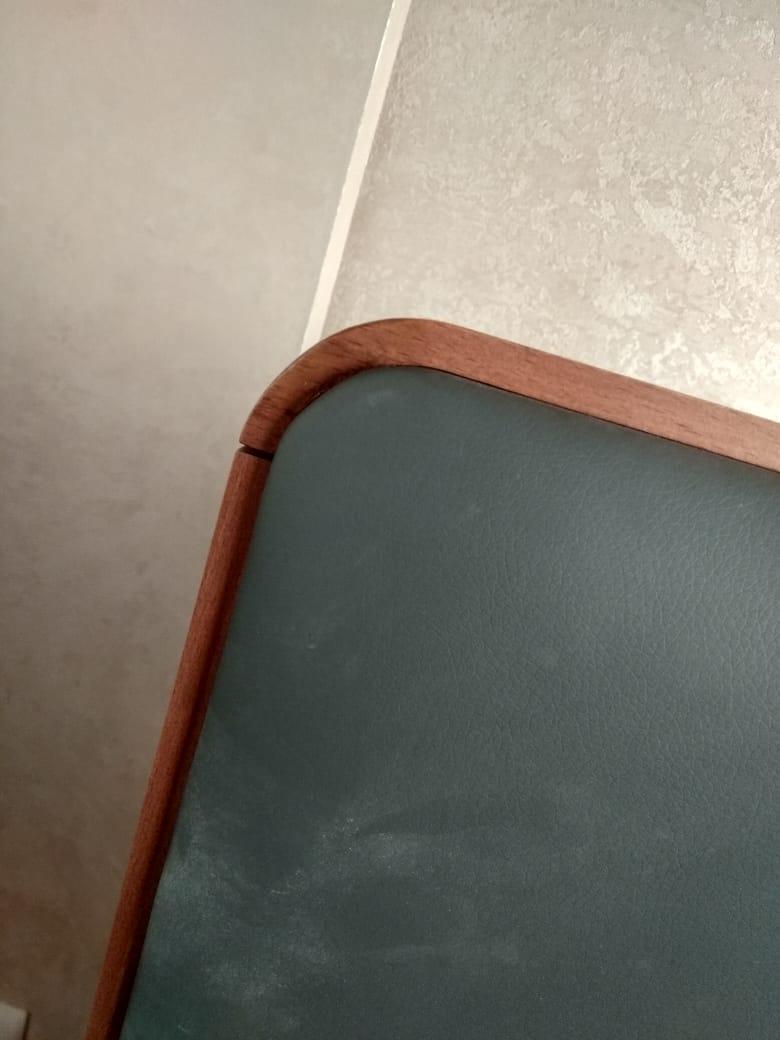 Выездная экспресс-реставрация изголовья кровати мастерами реставрационной мастерской RESTORER.EXPERT