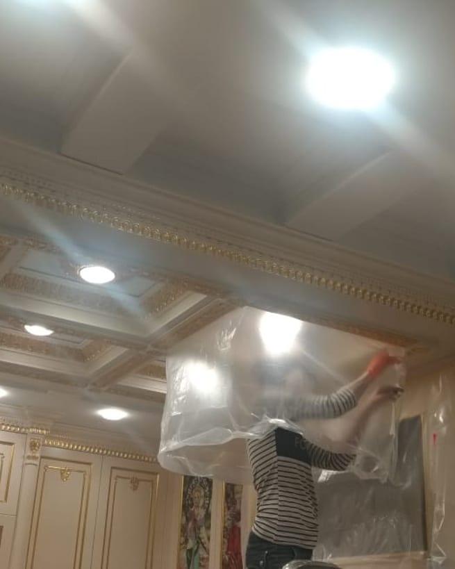Выездная реставрация новой кухни в реставрационной мастерской Restorer.expert