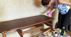 Женщина реставратор в Москве. Ремонт антиквариата, реставрация старинных вещей, реставрация мебели 19 века.