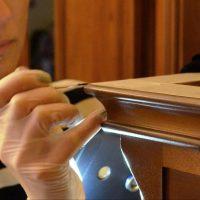 Реставрация винного шкафа в реставрационной мастерской RESTORER.EXPERT