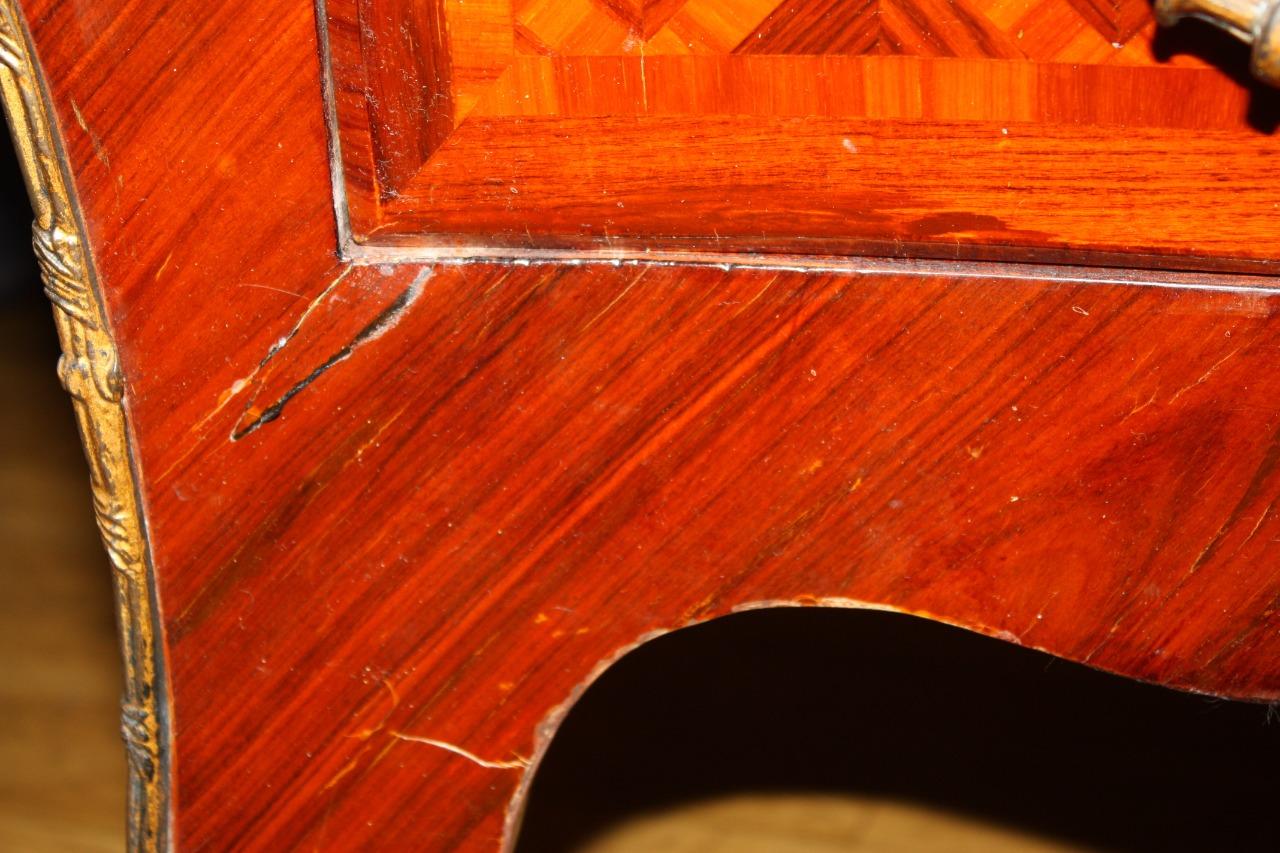 Реставрация антикварного комода в стиле Людовика XV реставрационной мастерской Restorer.expert