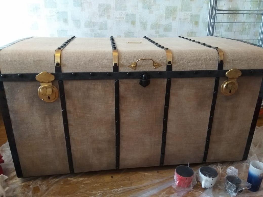 Реставрация и состаривание сундука в реставрационной мастерской RESTORER.EXPERT
