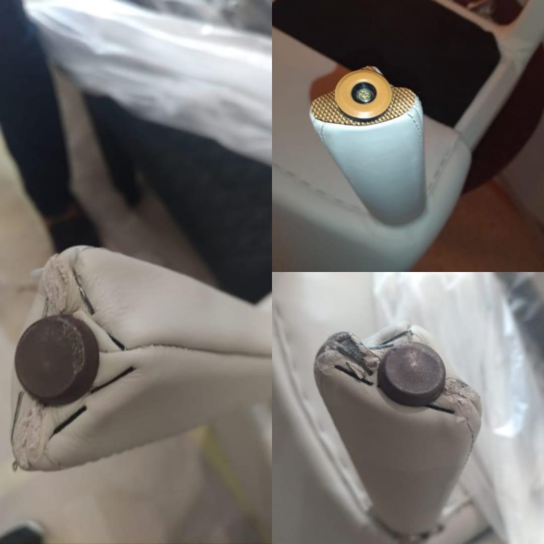 Реставрация новых стульев китайского производства в мастерской RESTORER.EXPERT