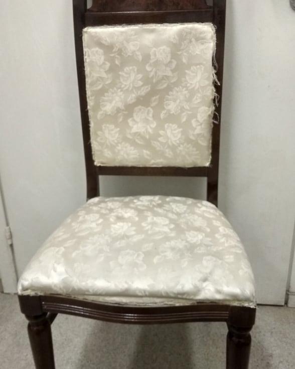 Перетяжка итальянского стула в реставрационной мастерской Restorer.expert